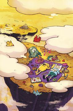 Adventure Time - Comics by comiXology Adventure Time Tumblr, Adventure Time Cartoon, Adventure Time Finn, Cartoon Network, Adveture Time, Land Of Ooo, Jake The Dogs, Bubbline, Fanart