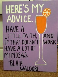 Have a lot of Mimosas. #TSM
