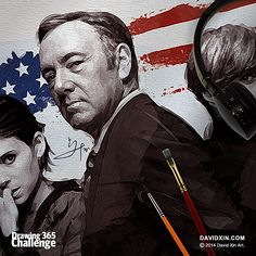 """""""I love that woman, I love her more than sharks love blood."""" - Frank Underwood Day 38"""