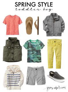 Spring Style for Toddler Boys & Girls - jenny collier blog