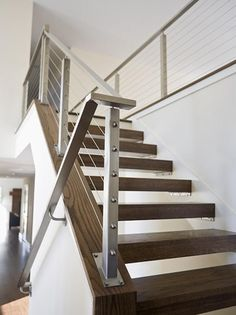 Photo of White Modern Stairs project by Anna Berglin Design