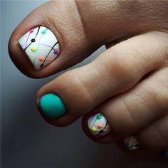 nail art designs for spring / nail art designs ; nail art designs for spring ; nail art designs for winter ; nail art designs with glitter ; nail art designs with rhinestones Nail Design Glitter, Nail Design Spring, Spring Nail Art, Spring Nails, Nails Design, Summer Pedicure Designs, Glitter Toe Nails, Acrylic Nails, Cute Summer Nail Designs