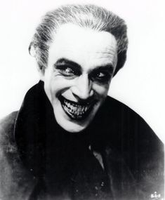 Conrad Veidt in The Man Who Laughs (1928) directed by Paul Leni