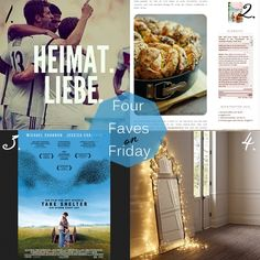 Four faves on friday