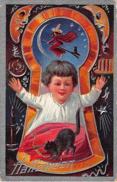 1909 Embossed Halloween