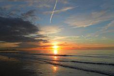 Zonsondergang van Zeeuws-Vlaanderen