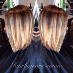 short hair with blonde ombre - Google Search