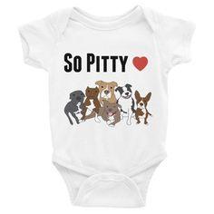 So Pitty Pitbull Infant Bodysuit
