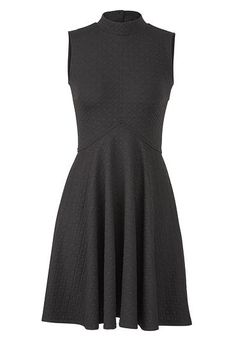 little black textured dress (original price, $39) available at #Maurices