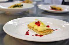 Deconstructed raspberry lemon and pomegranate tart [2592x1728] [OC] #foodporn #food #foodie #yummy #yum #foodgasm #nomnom #delicious #recipe