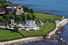 Newport, RI. Mansions Cliffwalk.