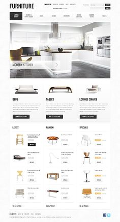 Furniture Design Layout modern web design trends | products, website and ui ux
