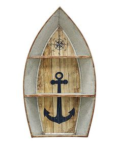 Another great find on #zulily! Nautical Boat Shelf #zulilyfinds