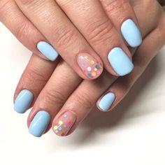 50 Cute and Creative Nail Art Designs for Spring Nexgen Nails Colors, Nail Polish Colors, Gel Nails, Spring Nail Art, Spring Nails, Nail Photos, Flower Nail Art, Instagram Nails, Nail Art Hacks
