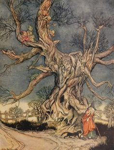 Arthur Rackham – The Legend of Sleepy Hollow.