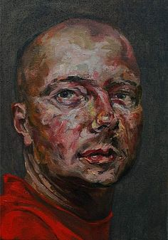 Face it Revisited-1, 35x50cm, oil on linnen