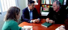 """MOTRIL. Luis Salvador: """"Una vez construido el consenso sobre las conducciones de la Presa de Rules, la exigencia de Ciudadanos es asegurar la cota 400""""."""
