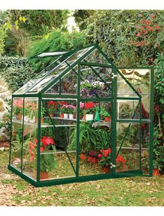 Small Greenhouse Kit | Polycarbonate Greenhouse with Galvanized Steel Base | Gardeners Supply Co.