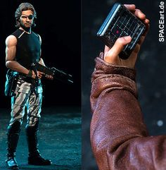 Die Klapperschlange: Snake Plissken - Deluxe Figur, Fertig-Modell, http://spaceart.de/produkte/klp001.php