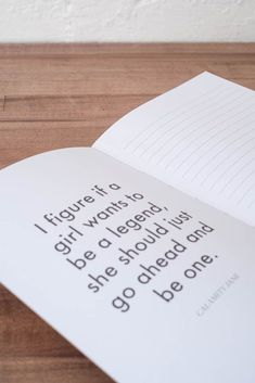 """This stylish specialty journal is filled with inspiring quotes from feminists past and present, and features a cover stamped with the word """"Feminist."""" It's a must-have accessory for any female and mak"""