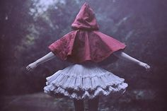 red riding hood #ethereal