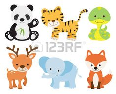 Image result for simple cartoon tiger
