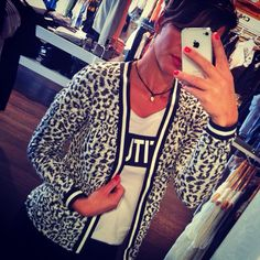 tiger cardigan Only