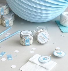 Trendy Diy Baby Boy Shower First Birthdays Baby Shower Winter, Baby Boy Shower, Baby Shower Favors, Baby Gift Box, Diy Baby Gifts, Balloon Birthday Themes, Party Gadgets, Welcome Baby Boys, Baby F