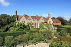 Astonishing: The huge property in Thakeham, West Sussex, was built in 1902 by architect Sir Edwin Lutyens