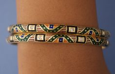 Enamel Cuff bangle bracelet #blue Enamel, #cuff bangle bracelet, #cuff, #bangle, #bangle bracelet, #jewelry