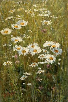 Elin Danielson - Gambogi Meadow Flowers 19th century