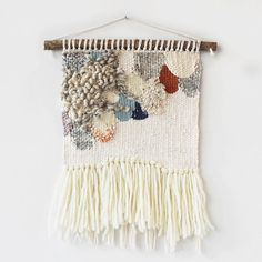This new weave has scallops, fringe, beads, texture and a little inspiration…