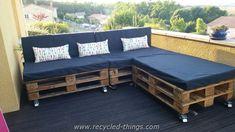 Pallet Garden Sofa