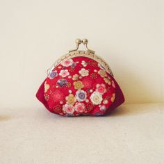 Hand stitched Frame Purse, coin purse, girlfriend gift, mother's day gift, bridesmaid gift, Chinese style, plum flower, portamonete, woman by berriesDot on Etsy