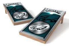 Philadelphia Eagles Single Cornhole Board - Medallion