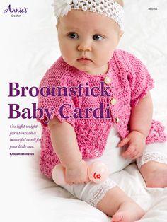 Crochet - Broomstick Baby Cardi - #885155E