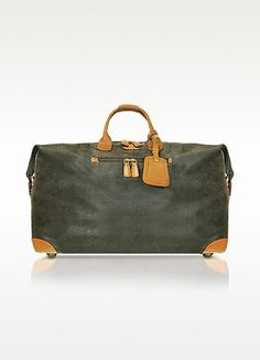 Bric's Life - Micro-Suede Large Holdall Travel Bag