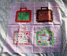Paper Pieced Lunchbox patchwork