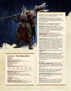 Leoric the Skeleton King CR 15