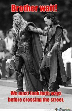 Brother wait! ~ Loki and Thor