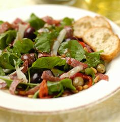 Freybe Italian Salami & Arugula Salad
