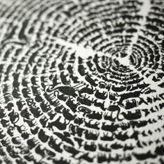 """Gorgeous and clever print """"Tree of Life"""""""