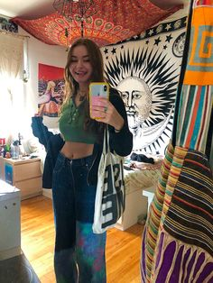 Indie Outfits, Retro Outfits, Cute Casual Outfits, Boho Outfits, Fashion Outfits, Indie Fashion, Aesthetic Fashion, Aesthetic Clothes, 00s Mode