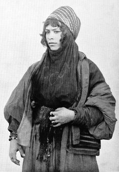 Syrian Bedouin woman, 1893 AD.