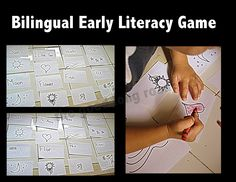 Bilingual Early Literacy Game
