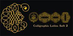 Calligraphia Latina Soft 2 - Webfont & Desktop font « MyFonts