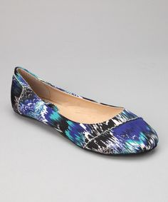 Take a look at this Shoes of Soul Royal Abstract Zigzag Flat by Shoes of Soul on #zulily today!  Just bought today.