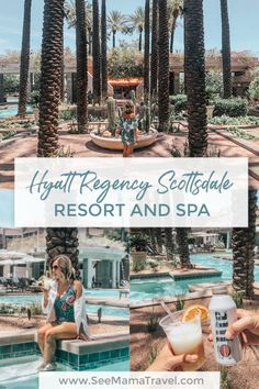 Spend a weekend away at the luxurious resort and spa in sunny Scottsdale, Arizona. With multiple pools, spa, nightlight and plenty of restaurants, the Hyatt Regency Scottsdale is THE place to stay when you visit Arizona. Scottsdale Hotels, Scottsdale Arizona, Sedona Arizona, Arizona Day Trips, Arizona Travel, Family Friendly Resorts, Pet Friendly Hotels, Hotels And Resorts, Hilton Hotels