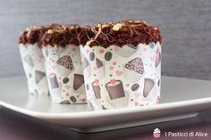 Muffins al Cioccolato con Cuore Morbido