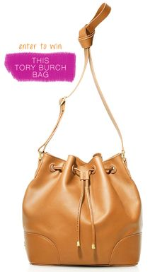 Win a Tory Burch bucket bag, valued at $495 #giveaway http://keep.com/giveaway?utm_source=JOJO&utm_medium=blog&utm_content=JOJOTBurch121713